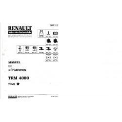 Manuel de réparation Saviem - Renault SM8 / TRM 4000