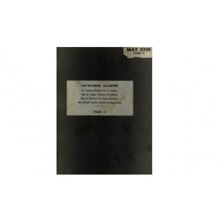 Catalogue illustré Berliet GBU / TBU - MAT 3329