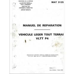 Manuel de réparation Peugeot P4