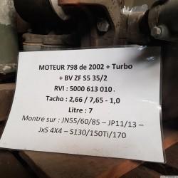 MOTEUR - MAN 798