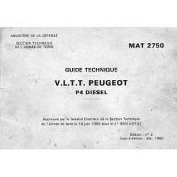 Guide Technique Peugeot P4