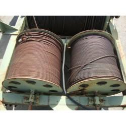 Bobine de câble en acier