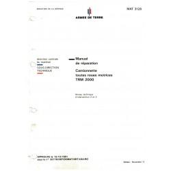 MANUEL DE REPARATION TRM 2000